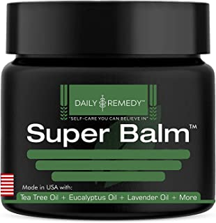 Antifungal Balm - Made in USA - Helps Treat Eczema, Ringworm, Jock Itch, Athletes Foot and Nail Fungal Infections - Best N...