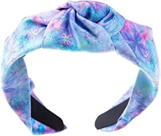 Amaonz 3pcs Women's Girls Creative Printing Wide Hair Bands Fashion Non Slip Leopard Wide Headbands Hair Accessories