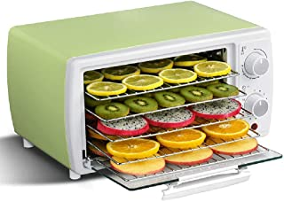 Dehydrator, Fruit Dryer Machine with Temperature Control 30-78°C Timer Up to 12 Hours with 5 Trays Easy Cleaning for Fruit...