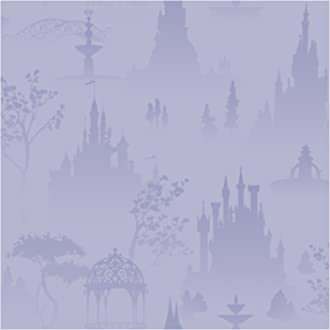 8-Inch x 10-Inch York Wallcoverings DK5900BDSMP Disney Kids Believe in Fairies Wallpaper Memo Sample