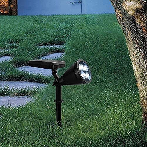 WQERLC Lámpara de Césped Al Aire Libre, Impermeable Led Lámpara de Césped Tierra Post Pole Light Light Light Lighting Lighting Exterior Camino Camino Pilar Linterna