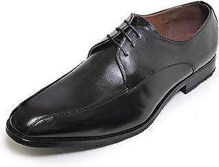 [カラダ快適研究所] 28cm 29cm 30cm ビジネスシューズ 紳士靴 ロングノーズ スワールトゥ 幅広3e ブラック n1211