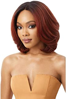 Outre Neesha Soft & Natural Synthetic Swiss Lace Front Wig NEESHA 206 (DRFFHNBRN)