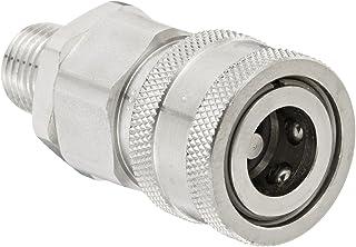 62CBH-04 Dixon 1//4 Brass Bulkhead Union Compression Fitting