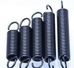 HongBin-lente 5Pcs Trekveer Met Haken, staal kleine Trekveer, Wire Diameter 1.2mm Outer Diameter 10mm Lengte 30-60mm (Leng...