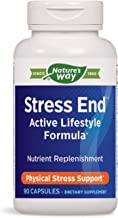 Enzymatic Therapy Nature's Way Stress End Active Lifestyle Formula, 90 Capsules