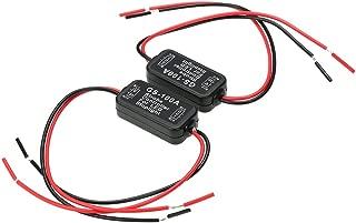 Tickas 2 PCS GS-100A Flash Strobe Controller Car Flasher Module for Car LEDrake Light Tail Stop Light DC 6-30V