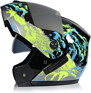 <h2>MISDD Im Freien Flip Motorrad-Sturzhelm New Up Motorrad Helm Motorrad-Modular-Doppelobjektiv-Motocross Moto Helm Absturz Integralhelme Casco Moto Casque Color : 16, Size : S</h2>