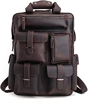 Best leather mens backpack Reviews
