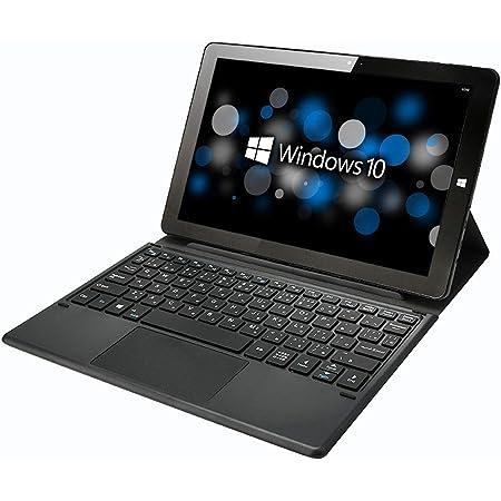 GLM 575g ! 超軽量 2in1 ノートパソコン タブレット 10.1インチ PC 日本語キーボード Office 付/ Windows 10 / Celeron /メモリ 4GB / SSD 128GB / WIFI / USB3.0 / HDMI / WEBカメラ