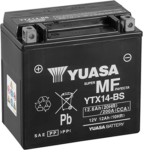 Yuasa YTX14-BS (CTX14-BS) Batterie moto sans entretien