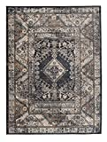 Carpeto Rugs Tapis Salon Gris 140 x 200 cm Oriental/Emirat Collection
