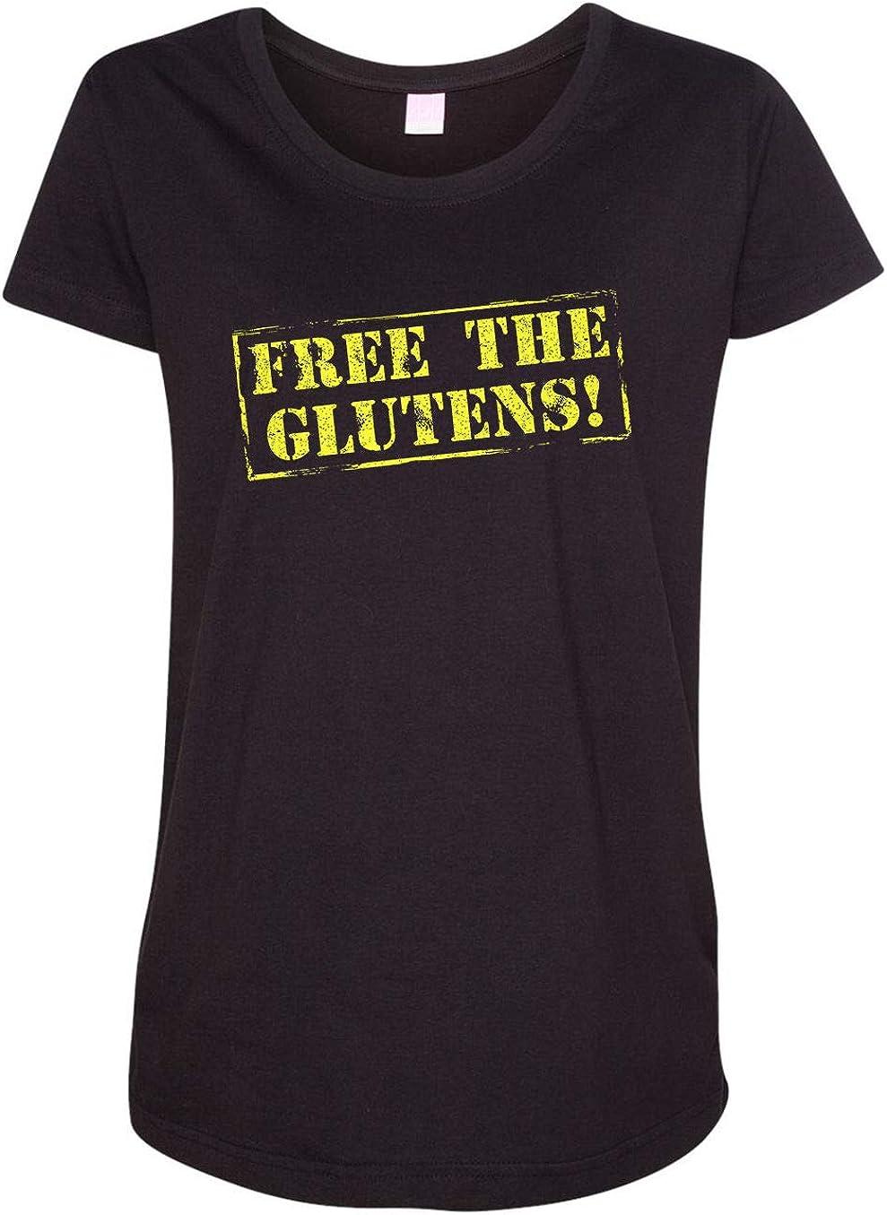 HARD EDGE DESIGN Women's Free The Glutens T-Shirt