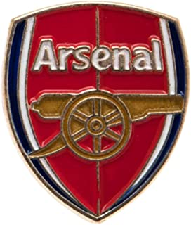 Arsenal Unisex New Crest Pin Badge, Multi-colour