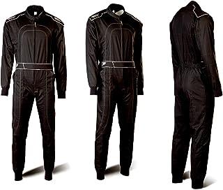 Speed Kartoverall Schwarz   Daytona Modell 2018   Karting Suit (XL)