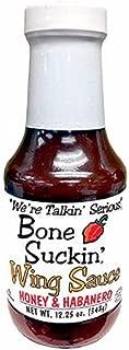 Bone Suckin' Wing Sauce - Honey & Habanero 12.25oz