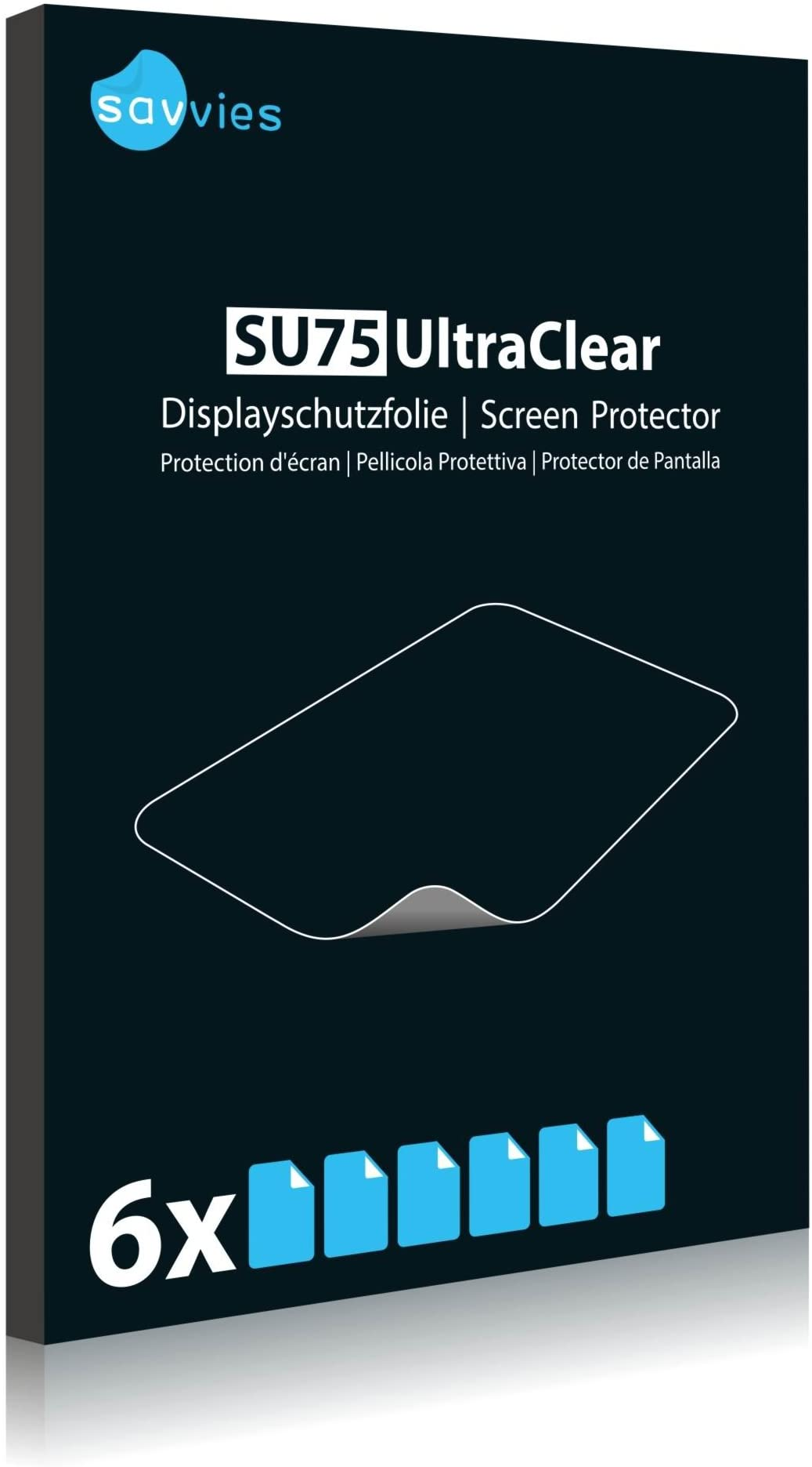 Display Protection Film Savvies Crystalclear Screen Protector for Ricoh GXR A16 100/% fits Protective Film