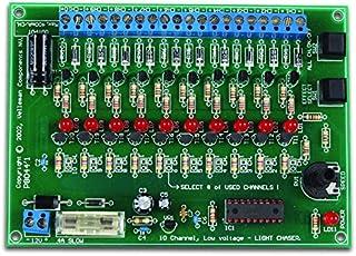 Kit de generador Efectos de luz, 10 Canales Velleman K8044