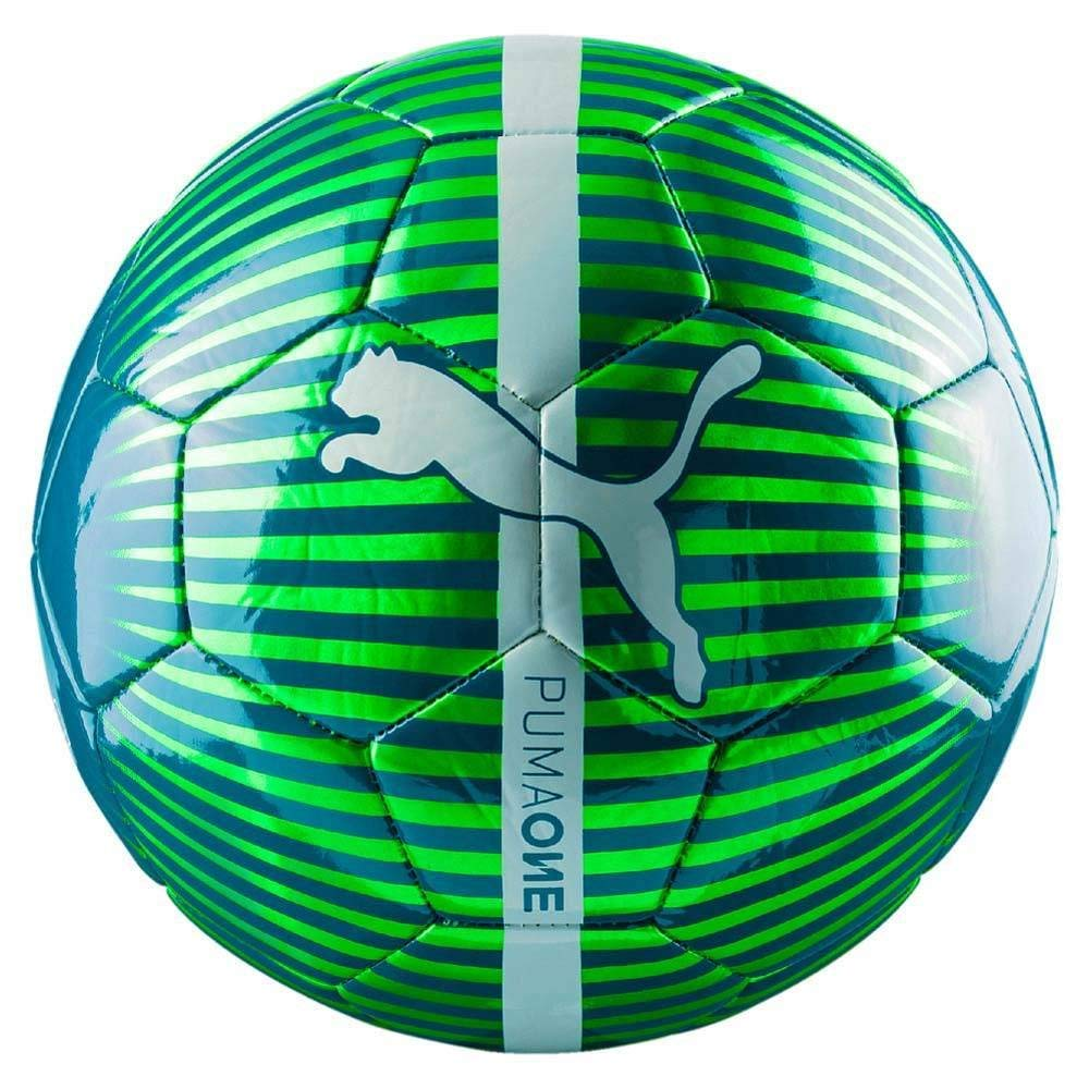 Puma 82821 25 One Chrome Ball - bola, Verde (Gecko/Deep Lagoon ...