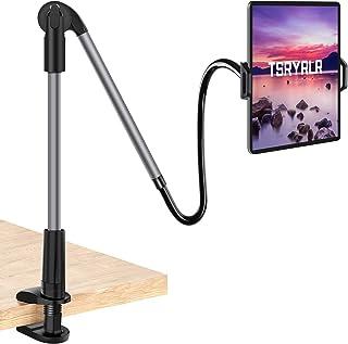 Tsryrlr Gooseneck Tablet Holder,Universal Tablet Stand 360 Flexible Lazy Neck Tablet Holder For Bed,iPad Holder for iPad P...