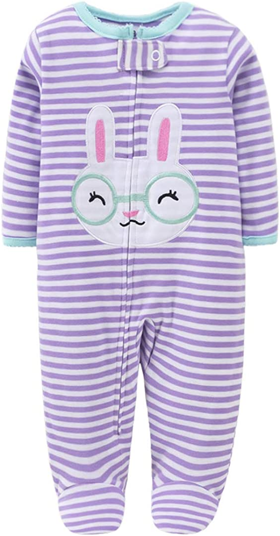 DIB Touched by Nature Baby-Boys Organic Romper Long Sleeve Sleepsuit Coveralls Cartoon Outfits