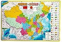 子供の面白い磁性のある中国地図の木製パズル&チリの早期教育のジグソーパズルのおもちゃ