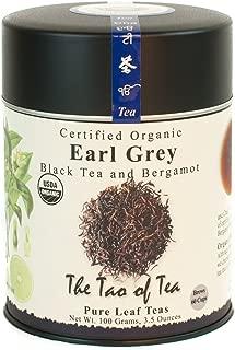 The Tao of Tea, Earl Grey Black Tea, Loose Leaf, 3.5 Ounce Tin