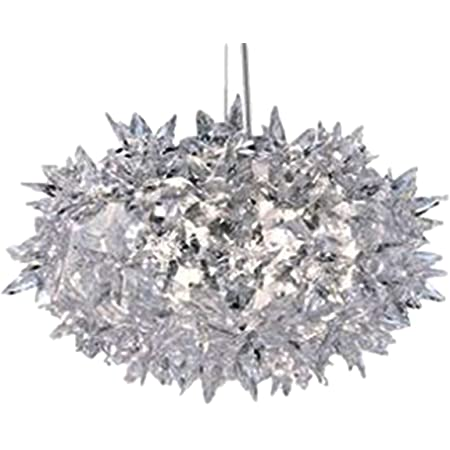 Kartell Bloom, Lampe de Suspension, Petite, Cristal
