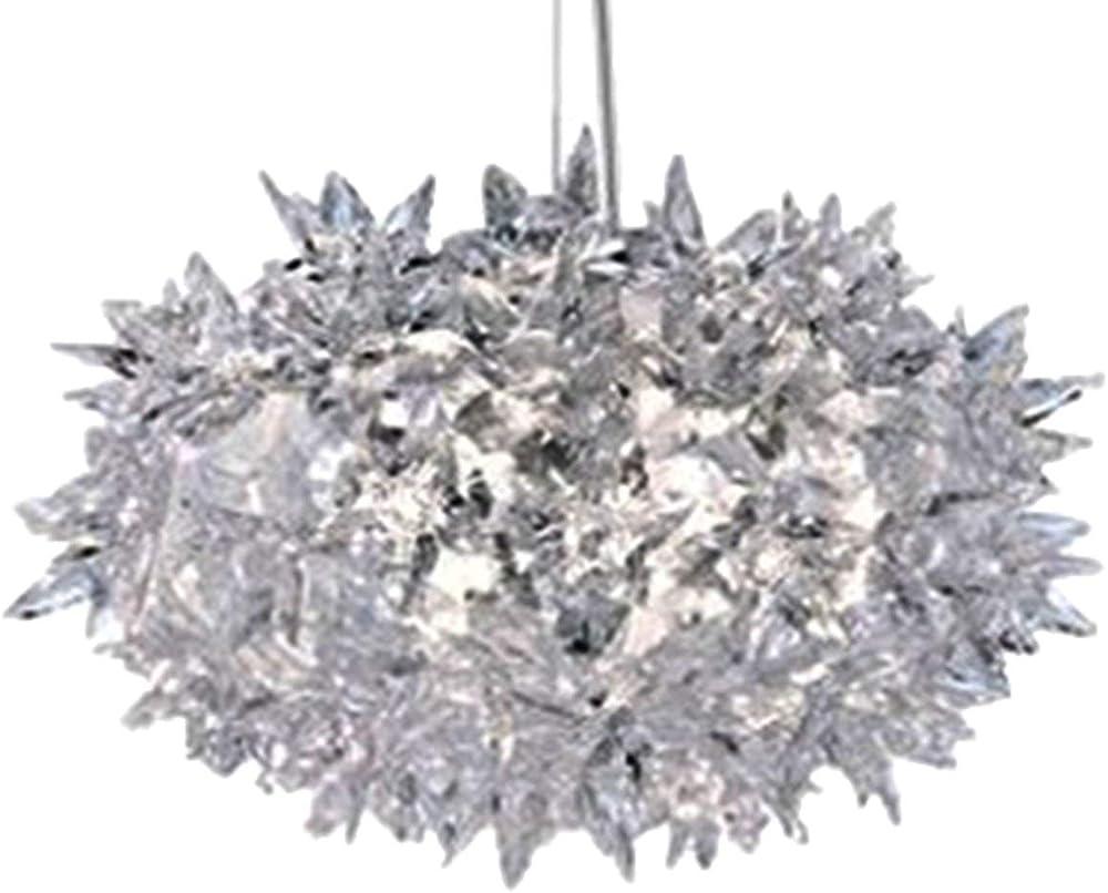 Kartell bloom, lampada a sospensione cristallo 09260B4