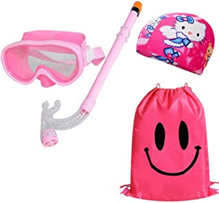 Kid Snorkel Set Silicona Scuba Child Swimming Snorkeling Má