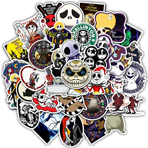 MYLIES graffiti Stickers Pack [50 pcs], Skateboard Sticker, Laptop Sticker, Used for Suitcases, Station Wagons, Motorcycles per Vinyl Decal Waterproof Sticker
