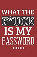 Wtf Is My Password: Password Log Book With Alphabetical Tabs For Men