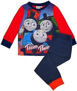 Boys Thomas and Friends Short Pyjamas Set Summer Shorty Nightwear PJ Age 2-5Yrs