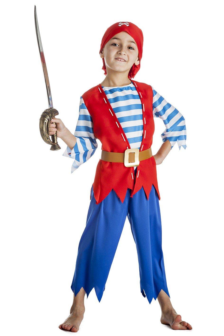 Disfraz de Pirata picos para niño: Amazon.es: Juguetes y juegos