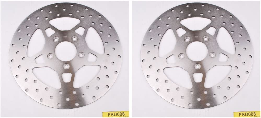 EBC SS Brand new Street Brake Disc 2 Bundle Rotors Very popular FSD008 -