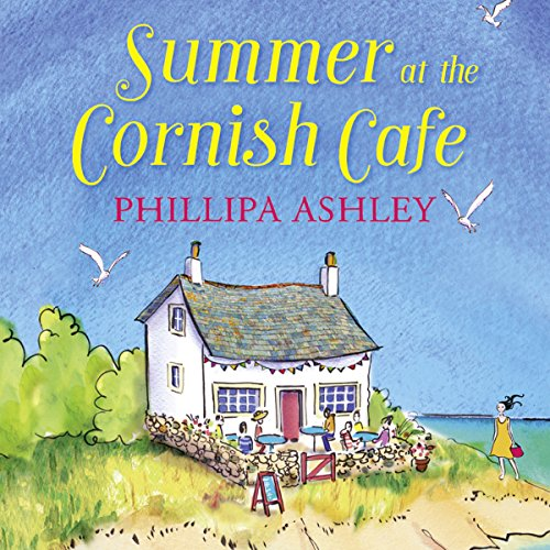 Summer at the Cornish Café audiobook cover art