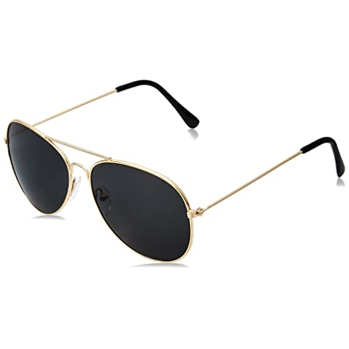 2411f86780a0 WearMe Pro - Polarized Metal Frame Pilot Style Aviator Sunglasses