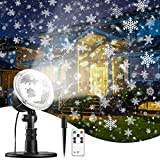 Christmas Projector Lights Snowflake New Year Projection,...