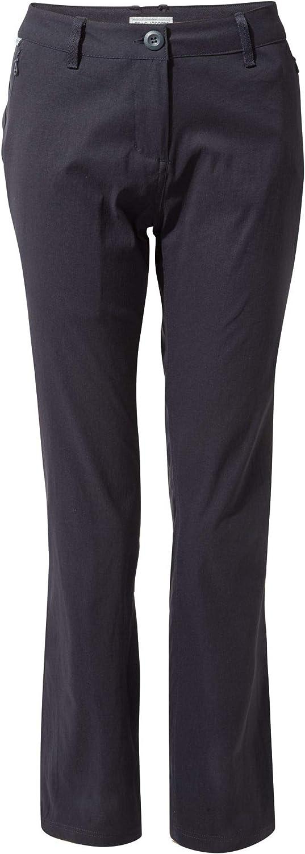 Craghoppers Womens Ladies Kiwi Pro Pants (14R US) (Dark Navy)