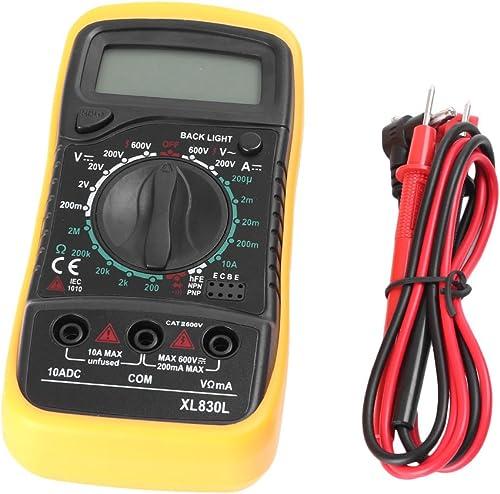 lowest Mallofusa Digital LCD Voltmeter Ammeter Ohmmeter Multimeter online Volt AC DC Tester popular Meter online sale
