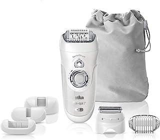 Braun Epilator Silk-épil 7 7-880 Facial Hair Removal for Women, Rechargeable Shaver, Cordless,...