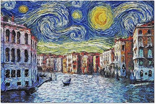 Venecia Italia   Noche estrellada   Van Gogh (Puzzle de 1000 piezas para adultos)