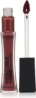 L'Oréal Paris Infallible Pro-Matte Liquid Lipstick, Roseblood, 0.21 fl. oz.