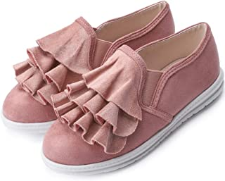 J's mom Girl's Comfortable Flats Combined with Sneakers and Mary Jane Shoes (Toddler/Little Kids)