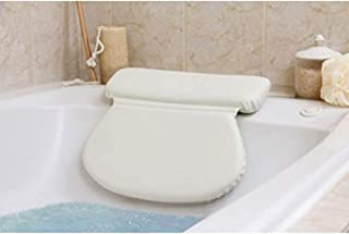YXHMdd Bathtub Pillow with Non-Slip, Suction Cups,Waterproof Large Size Bath Pillow Cushion ,for A Bubble Bath, Home Spa for Pregnancy Elderly