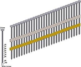 Rondkop-stripnagels 3000 st. Prebena RK31/90BK