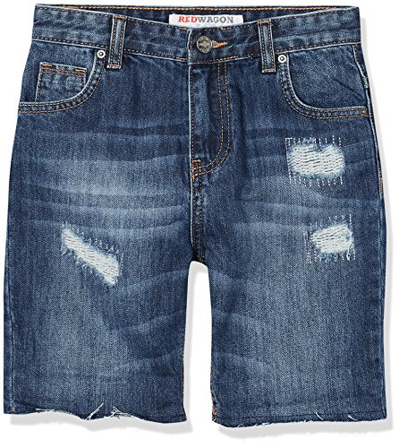 Marchio Amazon - RED WAGON Pantaloncini di Jeans Bambino, Blu (Blue), 110, Label:5 Years