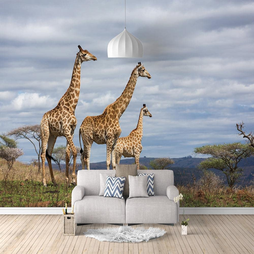 3D Same day shipping Wall Stickers Giraffe Decal Art for Be 70% OFF Outlet Mural Room Living