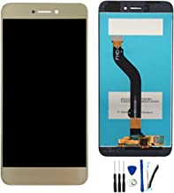 Full LCD Display Screen with Digitizer Touch Panel Assembly Replacement for Huawei P9 Lite 2017 Pra-LA1 Pra-LX2 Pra-LX1 Pra-LX3 /P8 Lite 2017 /Nova Lite Gold
