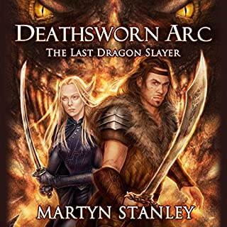 The Last Dragon Slayer audiobook cover art